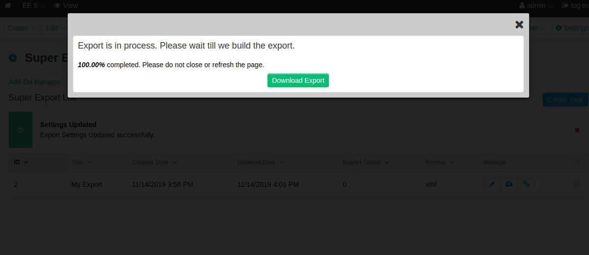 11 - Ajax Download Export 2