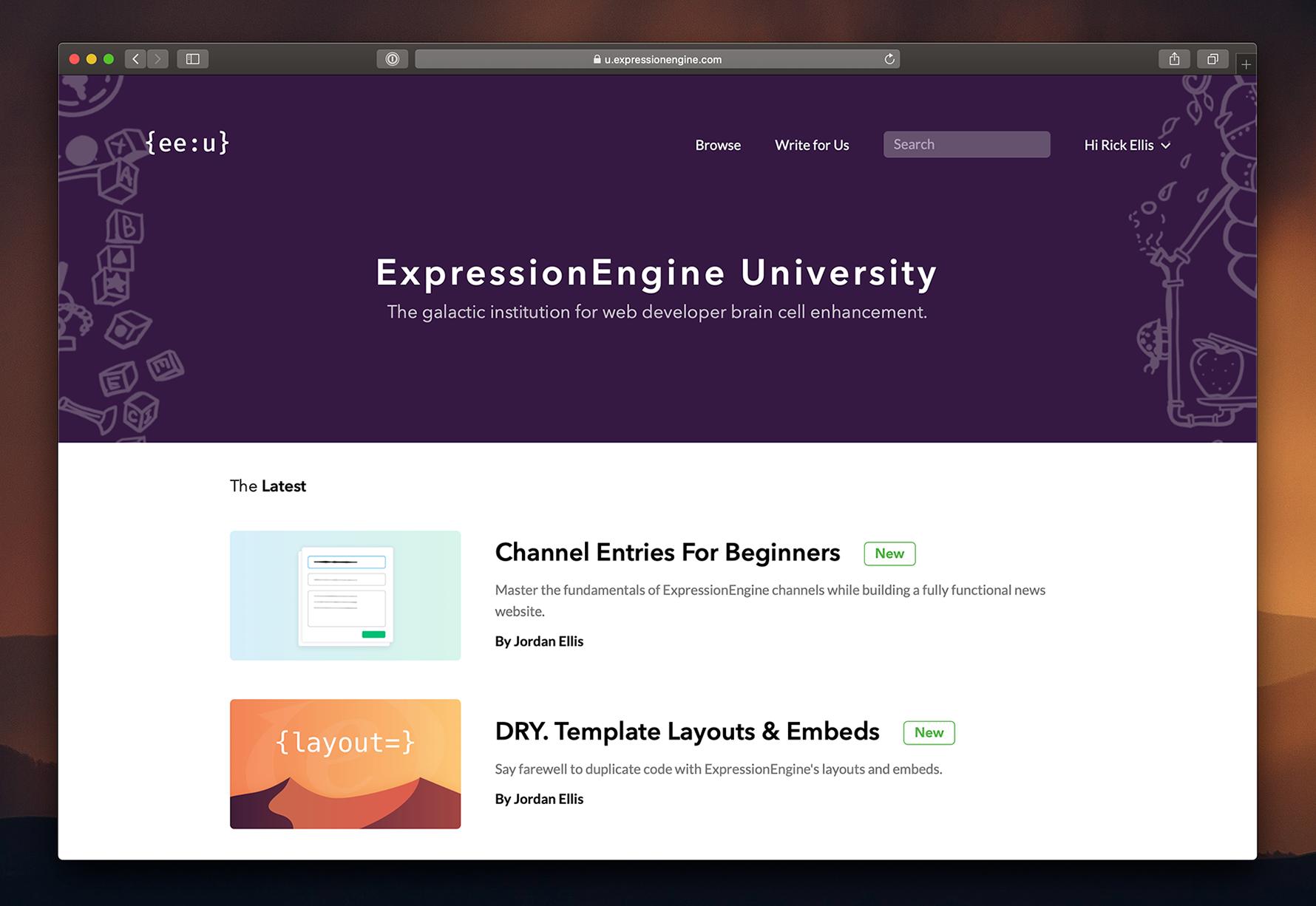 Announcing ExpressionEngine University! | Blog