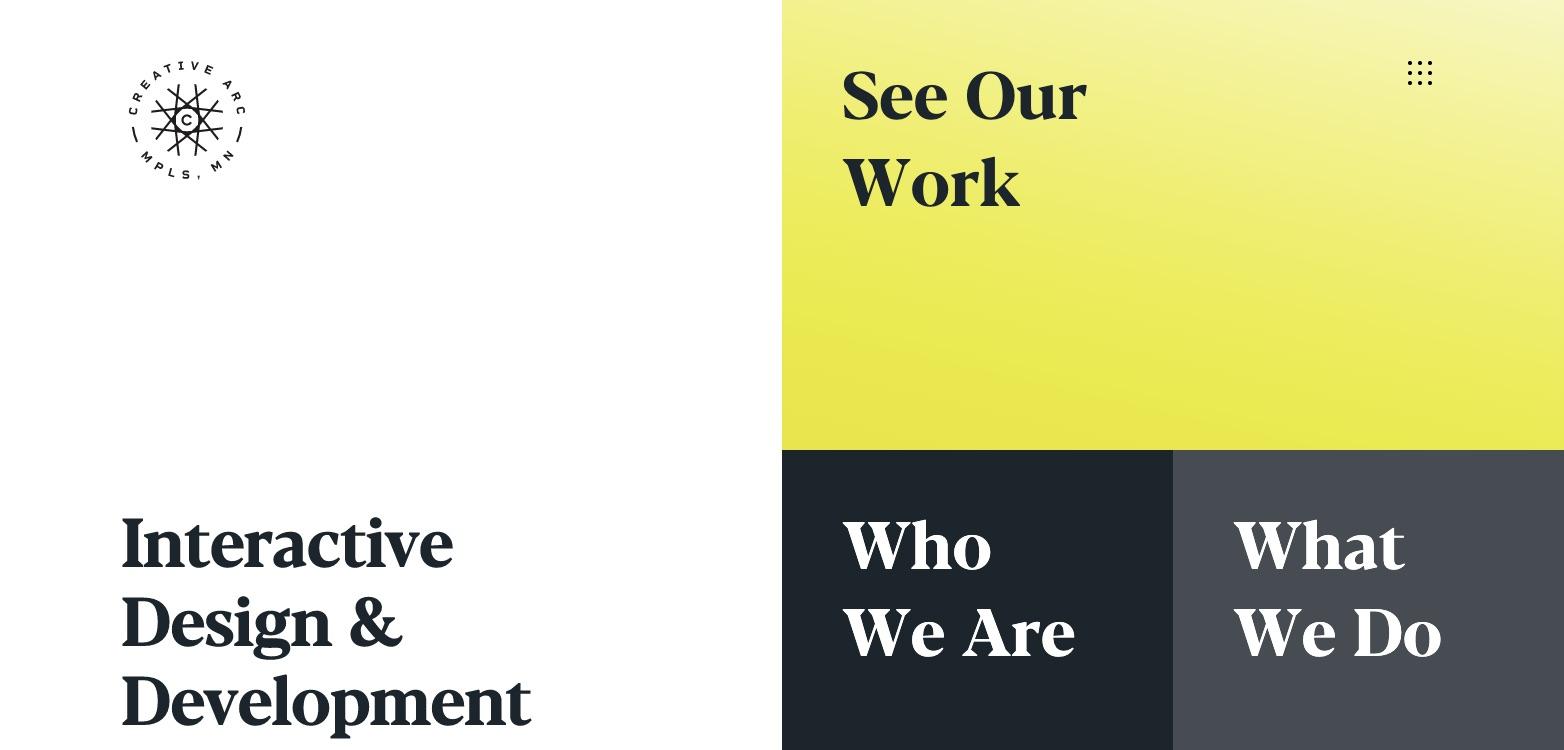 Creative Arc's Website'
