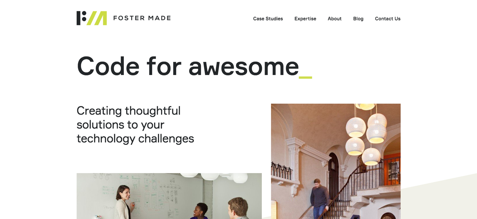 Foster Made's Website'